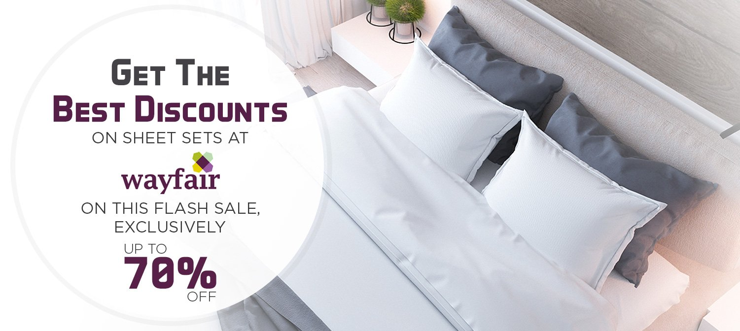 Get The Best Discounts On Sheet Sets At Wayfair On This Flash Sale